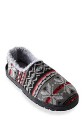 Muk Luks John Fairisle Full Foot Slipper Multi
