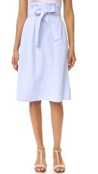 Club Monaco Dilys Skirt Cornflower Blue