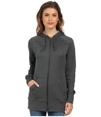 Columbia Rapid Ridge Full Zip Hoodie Black Heather Women's Sweatshirt