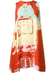 Stephen Sprouse Vintage Graphic Print Dress Multicolour
