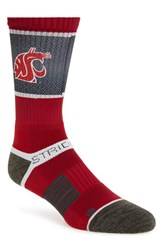 Men's Strideline 'Washington State Cougars' Strapped Fit 2.0 Socks