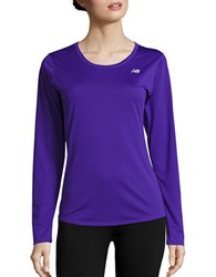 New Balance Long Sleeve Athletic Top Spectral
