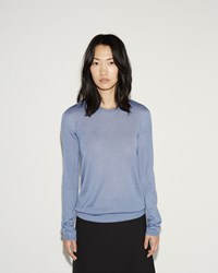 Jil Sander 18 Gauge Sweater Blue