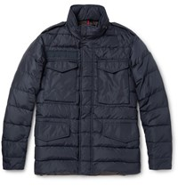 Moncler Zacarie Quilted Shell Down Jacket Blue