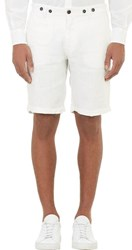 Barena Venezia Cuffed Walking Shorts White