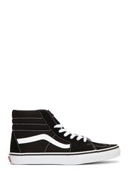 Vans Sk8 Hi Suede Panelled Sneakers Black