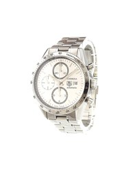 Tag Heuer 'Carrera Calibre 16 Chronograph' Analog Watch Stainless Steel
