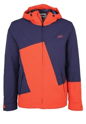 Chiemsee Kamron Ski Jacket Medieval Blue Red