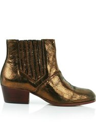 Hudson Paige Bronze Ankle Boot Bronze