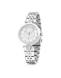 Just Cavalli Just Florence Silver Tone Stainless Steel Women's Watch