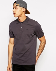 Evisu Polo Seagull Embro Charcoal