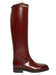 Alberto Fasciani 20Mm Calf Leather Riding Boots