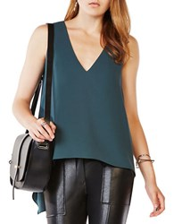 Bcbgmaxazria Tayloir Hi Lo Sleeveless Top Elm