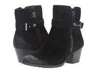 Earth Royal Water Resistant Black Suede Women's Boots