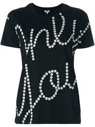 Kenzo 'Only You' T Shirt Black