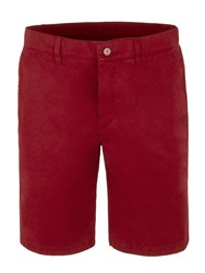 Gibson Hyde Park Chino Shorts Burgundy