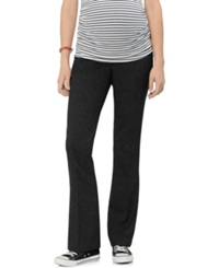 A Pea In The Pod Maternity Secret Fit Belly Slim Fit Bootcut Tweed Pants