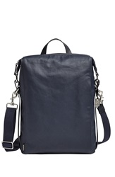 Skagen 'Agger' Coated Canvas Sling Bag Ink