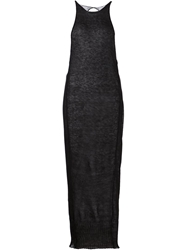 Isabel Benenato Knit Long Dress