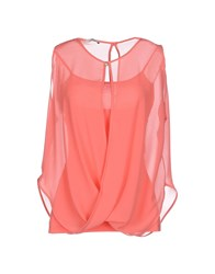Fracomina Topwear Tops Women Coral