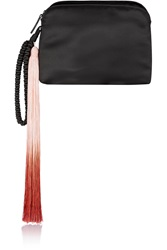 The Row Wristlet Silk Satin Clutch