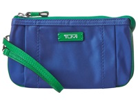 Tumi Journey Vienna Triple Comp Wristlet Atlantic Wristlet Handbags Blue