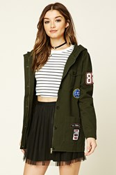 Forever 21 Patched Cargo Jacket