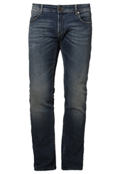 Volcom Vorta High Slim Fit Jeans Indigo Vintage Wash Blue Denim