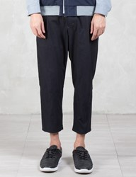 Vallis By Factotum Pleated Crop Pants