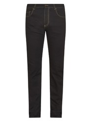 Tomas Maier Slim Leg Stretch Cotton Jeans Navy