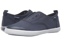 Sperry Sayel Clew Perf Canvas Navy Women's Shoes