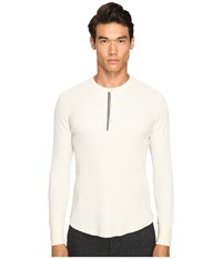 Todd Snyder Thermal Henley Oatmeal