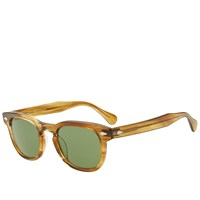 Moscot Gelt 46 Sunglasses Yellow