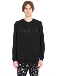 Ctrl Alt Del Cotton Sweatshirt