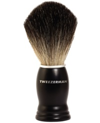 Tweezerman Gear Deluxe Shaving Brush No Color