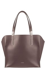 Lodis 'Blair Collection Anita' Leather Tote Grey Lava Taupe