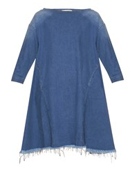 Rachel Comey Ballston Frayed Hem Denim Dress