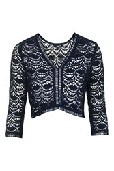 Tfnc Marbel Top By Navy Blue