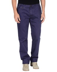 Cotton Belt Trousers Casual Trousers Men Purple
