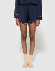 Which We Want Louise Pajama Short Navy