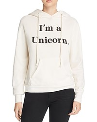 Wildfox Couture I'm A Unicorn Hoodie Vintage Lace