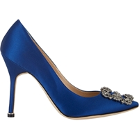 Manolo Blahnik Hangisi Pumps Royal Blue