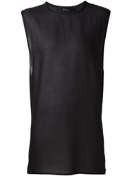 Sid Neigum Long Tank Top Black