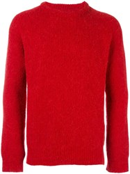 Our Legacy Crew Neck Jumper Red