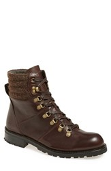 Andrew Marc New York Men's Andrew Marc 'Chester' Plain Toe Boot Carob Asphalt Leather