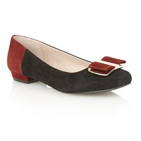 Lotus Sessile Court Shoes Black