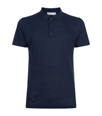 Sandro Beach Polo Shirt Male Navy