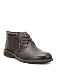 Ecco Turn Gtx Leather Boots Beige