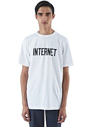 Colo Internet Crew Neck T Shirt White