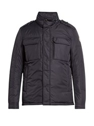 Moncler Daumier Down Padded Nylon Coat Navy